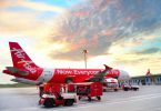 AirAsia jet airplane