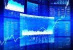 Financial trading screens