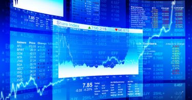 Financial trading screens