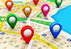 location pointers GPS