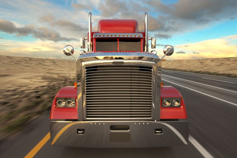 18 wheel truck