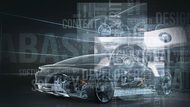 Porsche graphic