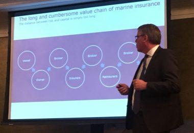 Maersk Henneberg Blockchain Insurance Summit