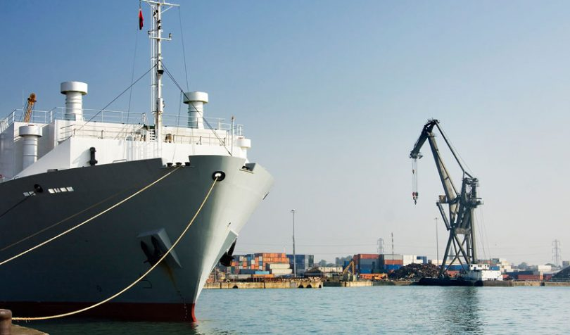 UK port