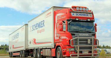 DB Schenker truck