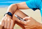 mobile location beach smartwatch