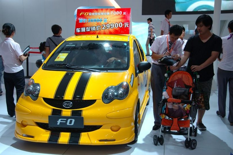 BYD electric vehicles