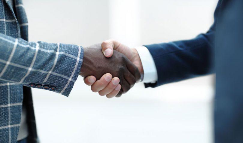 trade handshake