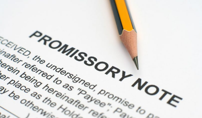 forfaiting promissory note