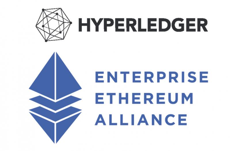 Hyperledger Enterprise Ethereum Alliance EEA