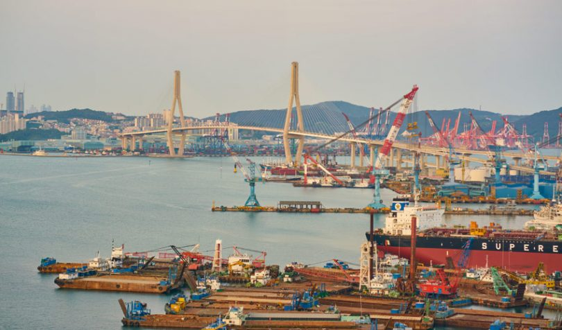 busan port south korea