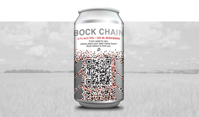 bockchain beer food traceability