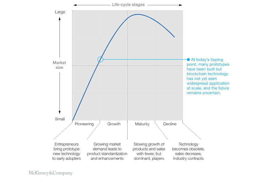 McKinsey & Company technology life cycle