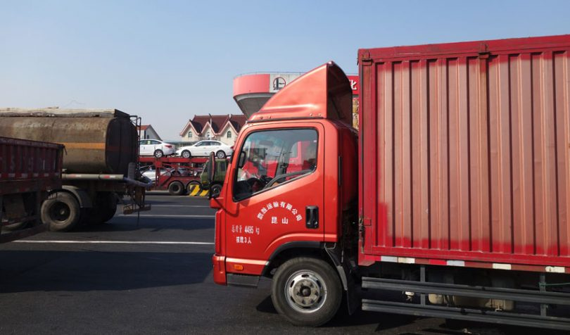 china trade trucks