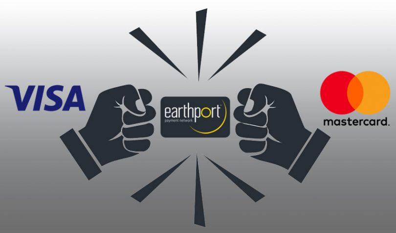 visa mastercard earthport