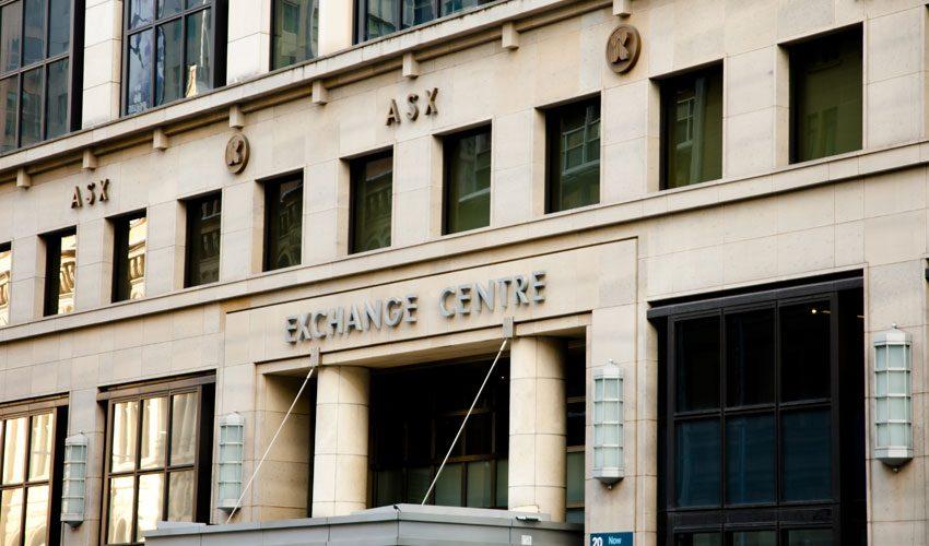 ASX australian securities exchange stock