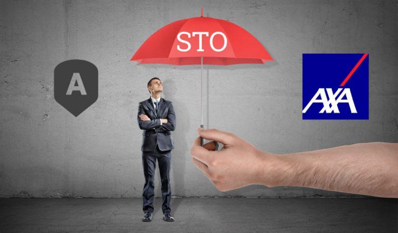 assurely axa security token insurance