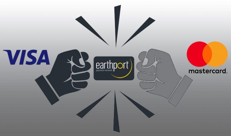 earthport visa mastercard