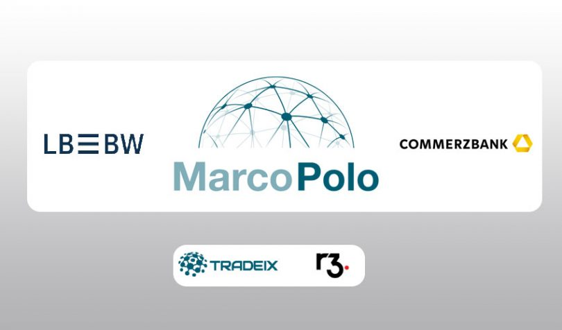 marco polo trade finance lbbw commerzbank blockchain