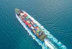container ship trade