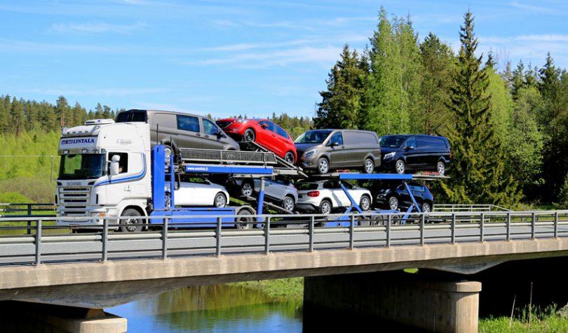 vehicle logistics cars