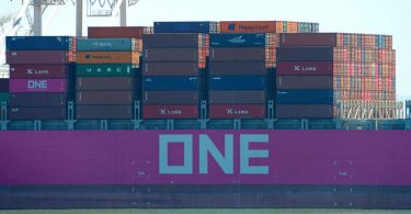 ONE container ship Ocean Network Express