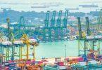 singapore port trade