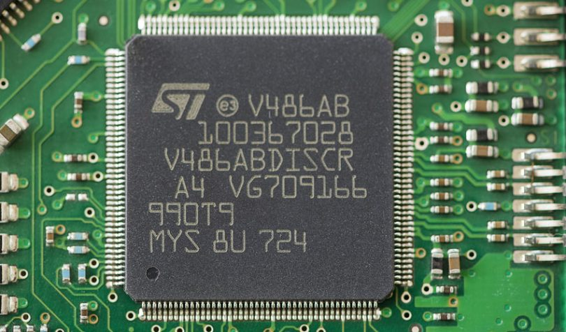 st microelectronics processor