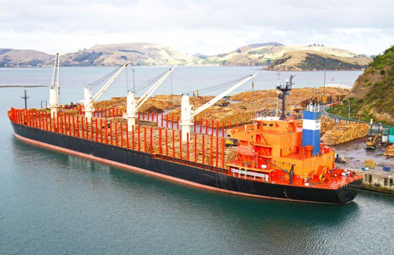 new zealand trade supply chain ship