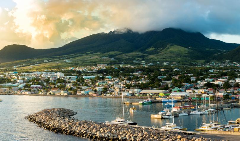 St Kitts land