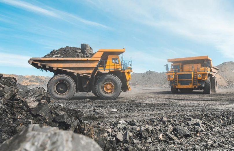 minerals mining truck