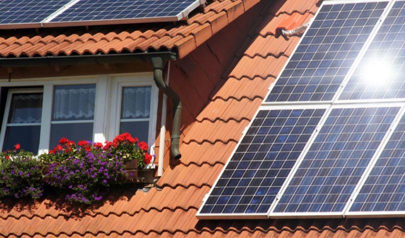 solar panel rooftop renewable