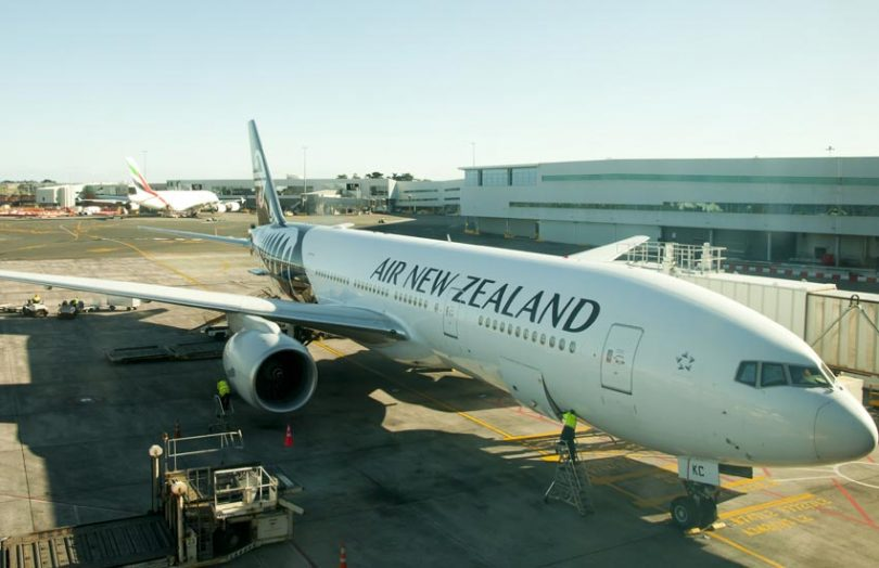 air new zealand aircraft