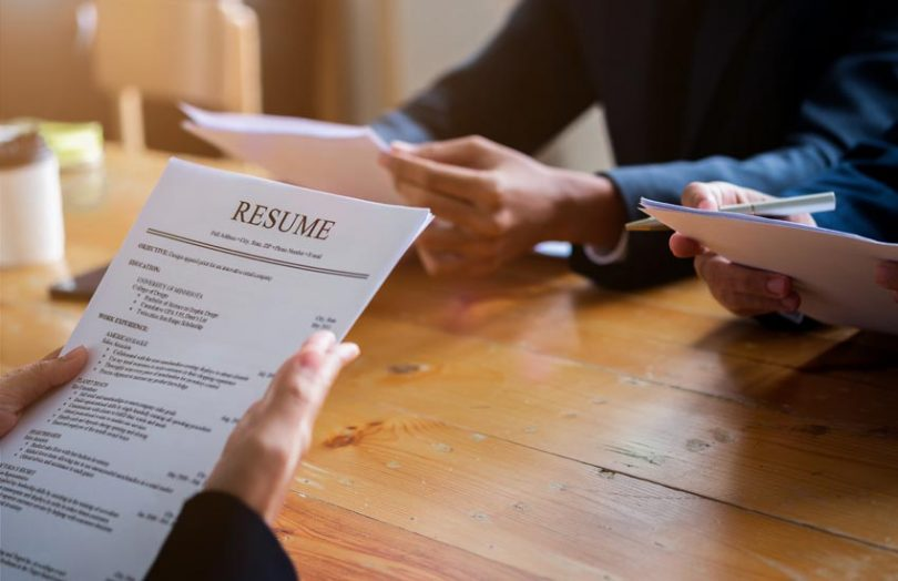 blockchain staff jobs resume