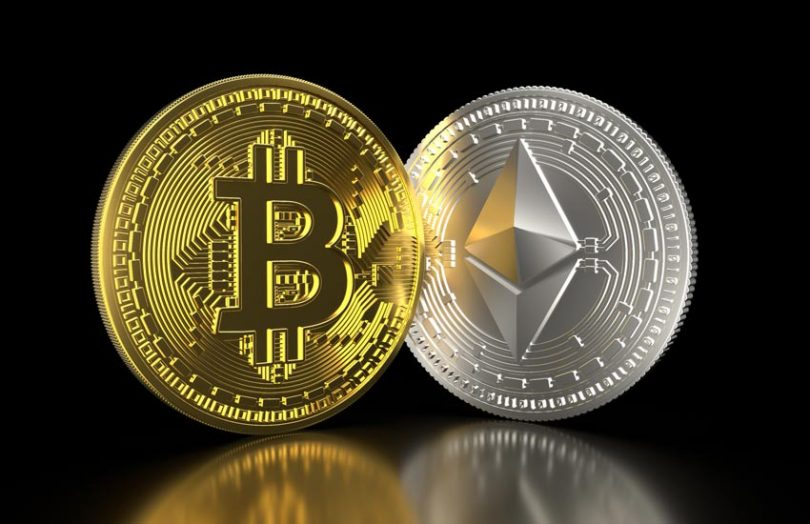 cryptocurrency bitcoin ether