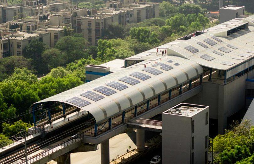 solar panels energy delhi india