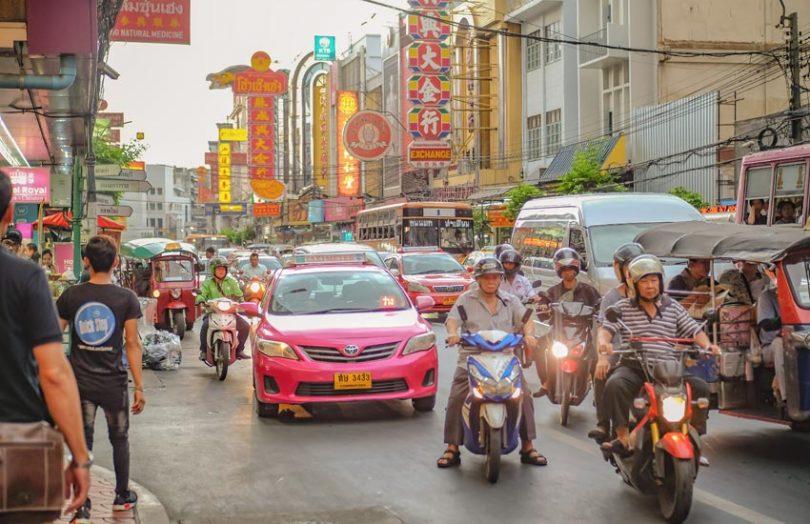 thailand tourists bangkok