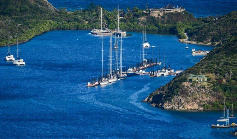 BVI caribbean harbor