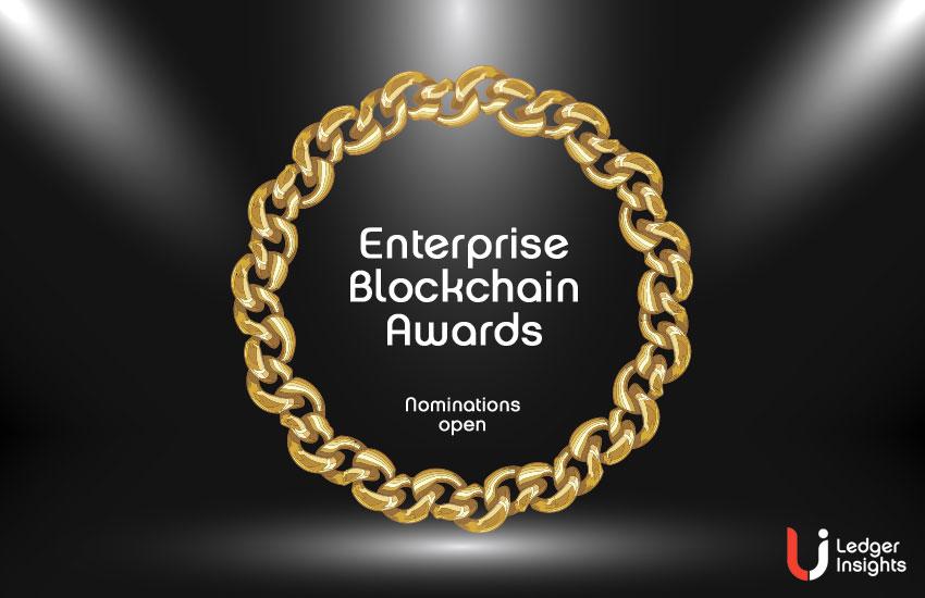 enterprise blockchain awards nominations