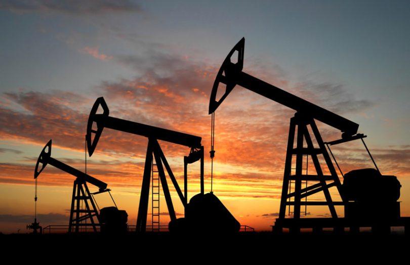 oil rig crude oil
