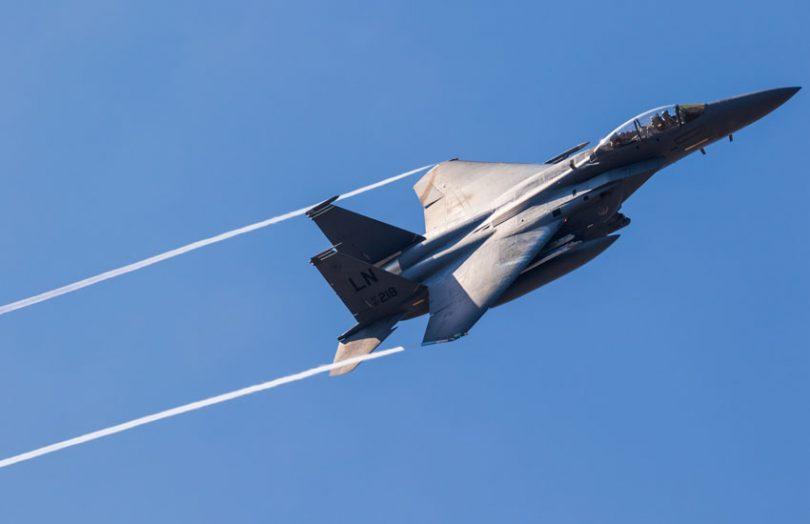 USAF F15 jet