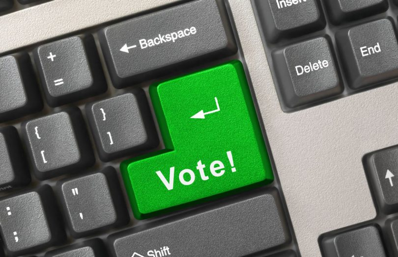 electronic digital vote voting