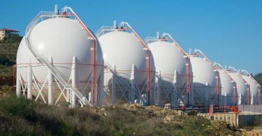 LNG Gas Storage Tank