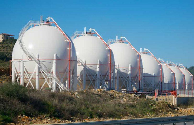 LNG Gas Storage Tank