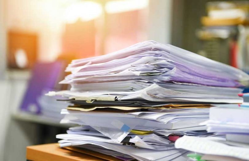 documents files paper