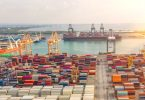 port containers shipping trade