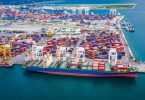 port shipping container trade
