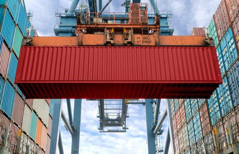 shipping container cargo trade