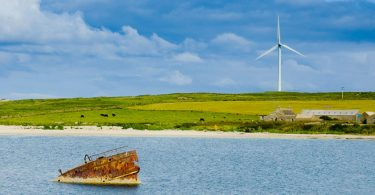 wind generator orkney islands scotland