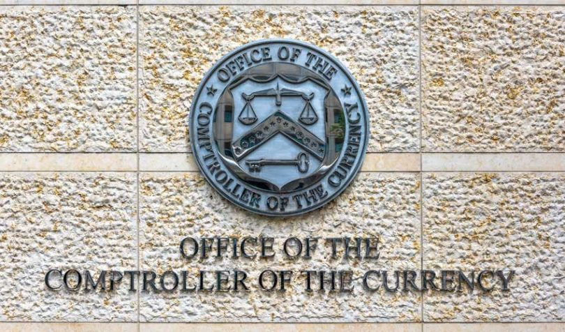 office of comptroller of the currency occ